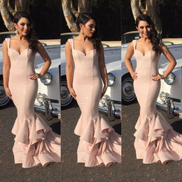 2016 blush Pink New iBridesmaid Dress Maid Of Honor Gowns For Wedding Sweetheart Appliques Mermaid Lace Chapel Train Cheap