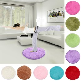 Wholesale New Home decor Bedroom Mat Door Floor Carpet puzzle mat Fluffy Round Foam Rug Non Slip Shower mats cm