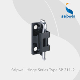 Wholesale Saipwell SP hinges for doors swing zinc alloy display cabinet glass hinges universal lambo door hinges in a Pack