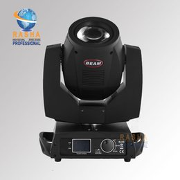 Wholesale Lowest Price W Channels R Sharpy Moving Head Beam light Gobo Beam Effects with phase Motor lens Combined LCD display