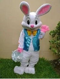 2016 PROFESSIONAL EASTER BUNNY MASCOT COSTUME Bugs Rabbit Hare Adult Fancy Dress Cartoon Suit