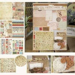 Wholesale Creative Scrapbooking DIY Gifts Pack Vintage Emebllishment Kit Idea For Home Deco Scrapbooking and Paper Craft