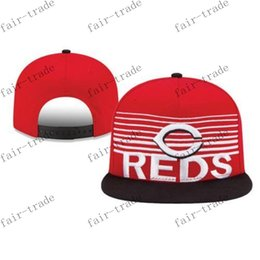 Wholesale cincinnati reds snapback mens baseball caps women hats flat caps snapbacks for sale snapback online shop cheap snap backs