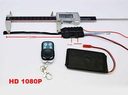 Wholesale Mini caméra Module Professional V86 Full HD p avec télécommande caméra de détection de mouvement modulaire DVR CCTV Seucurity bricolage