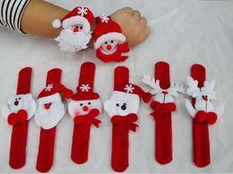 Wholesale christmas ornaments kids christmas gift Wrist Strap Watch Bracelet Christmas Supplies Decoration Gift for kids Santa Claus Snowman Deer