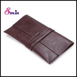 Wholesale-2016 New Design Pu Leather Men Clutches Vintage Men Leather Handbags Casual Wallet Clutch Document Bag Men Business Bags DB5471