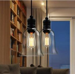 Pendant Light Fixture Vintage Pendant Light w Glass Shade (Inc Edison Bulb),Guaranteed 100% + Free shipping!
