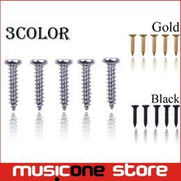 200pcs Wholesale Acoustic Electric Guitar Tuning Pegs Screws Bass Guitar Machine Heads Mounting screws Chrome Black Gold for Choose MU1292