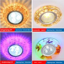 2016 El proyector cristalino del color de alta calidad de Lamparas De Techo llevó la Navidad de los proyectores del techo de Downlight para las alamedas que enviaban libremente desde focos de colores fabricantes