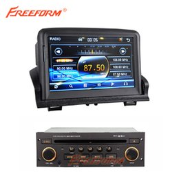 Wholesale Car DVD GPS player for peugeot Bluetooth TV iPod Radio stereo RDS CAN BUS Free sd card with map