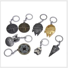 8 Design Children Star Wars Key buckle 2016 new Star Wars Airship key ring baby Keychain B