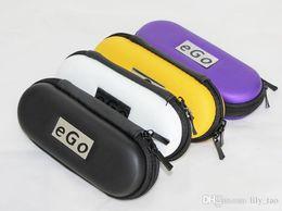 Meilleur prix eGo Sacs E Cigarette e cig Cases Zipper Voyage pour le Kit eGo Démarrer de eGo t CE4 CE5 CE4 + CE5 + Mod Protank start kit ego on sale à partir de commencer ego kit fournisseurs