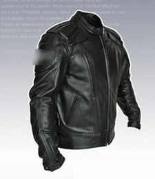 Men in Europe and the new outdoor overalls fall clothing motorcycle engine proof clothes leather jacket. M - 3 xl