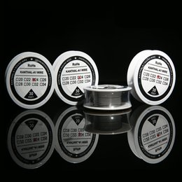 Wholesale Best Kanthal A1 Resistance Wire Feet Spool awg Gauge Heating Wire DIY RDA RBA Vaporizer