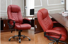 Wholesale Top Quality Computer Chair PU Leather Office Chair Swivel Revolving Lift Chair Executive Chair Free shpping