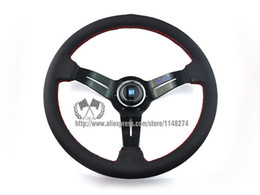 Wholesale nardi mm NOB Classic Suede Steering Wheel High Quality universal fitment have stock ready to ship