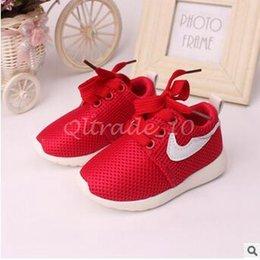 Wholesale 1lot CCA3370 New Arrival Kids First Walker Shoelace Sports Shoes Children Shoe Unisex Non slip Soft Bottom Athletic Shoes Baby Casual Shoes