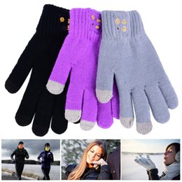 Wholesale Super Adult Bluetooth Touch Screen Gloves Hi Call Mic Headset for Smart Phones