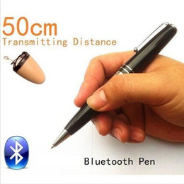Wholesale 2015 NEW Bluetooth Pen HERO cm Long Transmitting Distance To SPY Earpiece Can Work during Writing