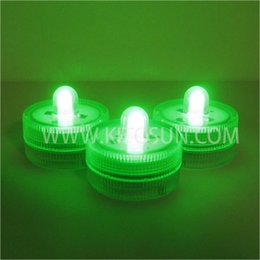 Wholesale Factory Vendor Fase Delivery LED green SUBMERSIBLE mini single led lights