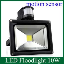 Wholesale LED Floodlight W PIR Motion Sensor Home Garden Security LED Flood Light Outdoor Lamp AC V Outdoor Light TGD031