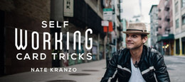 Wholesale SELF WORKING CARD TRICKS BY NATE KRANZO magic teaching video no gimmick fast delivery send via email