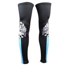 Wholesale Newest Pro Team Bianchi Cycling Leg Sleeves Outdoor Mountain Bike Leg Sleeves for Cycling Gambali Ciclismo