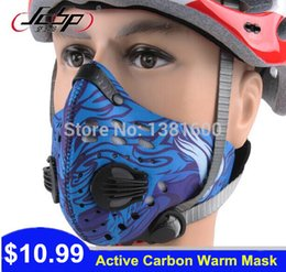 Wholesale Brand Activated Carbon Masks Bicycle Dust Prevention Face Mask Waterproof Respirator Cycling Gas Mask Dustproof Riding Equipment