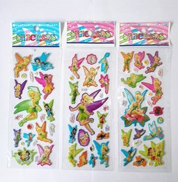 Wholesale children stickers fairy stickers for kids elf pixie stickers puffy stickers toys for kids school stickers party favors girls party supply