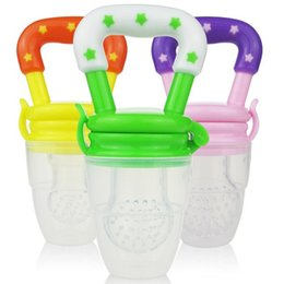 Wholesale New Baby Cute Food Nipple Feeder Silicone pacifier Fruits Meat Feeding Tool Supplies SZ16 N01