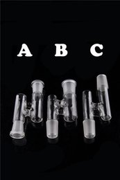 High Quality Cheap RECLAIM attachemnts ash CATCHER ADAPTER for water bong Glass water glass pipe Accessories