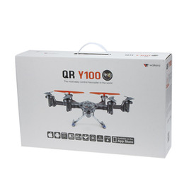 Wholesale Walkera QR Y100 FPV Wifi Aircraft UFO RC Quadcopter Drone helicopter with camera brushless motor VS dji phantom remote control