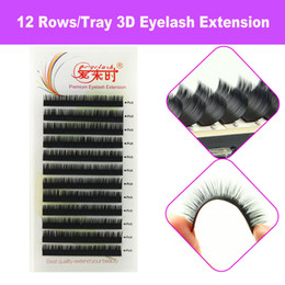 Thinkshow 1 Tracy B C D Curl 8-15mm 3D Russia Silk VOlume Natural Eyelash Extension False Eyelashes Individual Eyelashes Makeup Fake Lashes