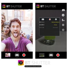 Meilleur stick bluetooth selfie en Ligne-2015 HooX en alliage d'aluminium selfie bâton auto-portrait Manfrotto Extensible Bluetooth selfie Stick avec obturateur à distance Best Gift, Stock Au Royaume-Uni