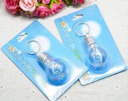 Hot New Gift 7 different colors LED Flash Lights Mini Bulb Torch Key Cute Chain Key ring
