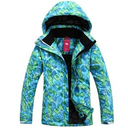 Wholesale-NEW winter Women's brand outdoor sports skiing jackets snow wear Snowboard Ski suit,warm clothing thermal wear