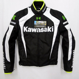 Wholesale kawasaki New Arrival motorcycle jacket racing jacket autorcycle jacket Motor jacket