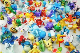 Wholesale 1 SET PER POKEMON ACTION FIGURES CM Action Figures Toys Action figure pocket PVC Action Figures Toys Classic Toys Melee