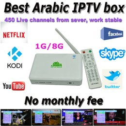 Wholesale Best Arabic IPTV box support channels from our sever work stable