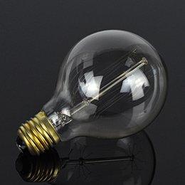 Wholesale-DIY Handmade Retro LED Incandescent Vintage Light Bulb Edison Bulb Fixtures E27 220V 40W lamp Bulbs Lamps