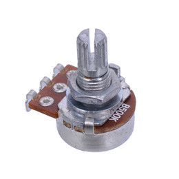 Wholesale B500k Long Split shaft mm ELectric Guitar Volume Tone Pots Audio Tone Switch Potentiometer guitar parts MU0905