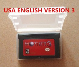 Wholesale 2015 Updated Game card Mother game newest Version Earthbound English Translated language USA Version game cart