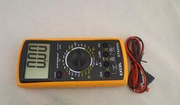 The best LCD Digital Multimeter AC DC VOLT Meter Voltmeter Ohmmeter Ammeter DT9205A free shipping
