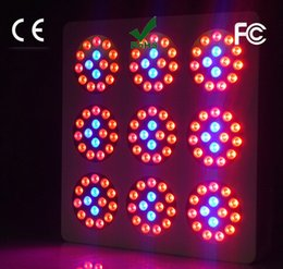 Wholesale 5pcs dhl free w Led Plant Growth Light Indoor Growing Lamp hi tech module design full spectrum grow led light