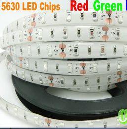 IP65 waterproof SMD 5630 LED Strip Light led Stripe Flexible Light tape ribbon Cool white,Warmwhite Blue,Green,Red