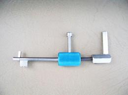 Blade Lock Pick Tool Lock Picking Lockpick Locksmith Tools Lock Pick sets Bump Key Lock Opener