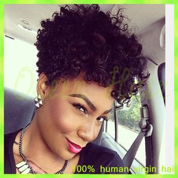 Glueless Kinky Curly Lace Front Human Hair Wigs Brazilian Virgin Hair Full Lace Wigs With Baby Hair For Black Women FreeShipping