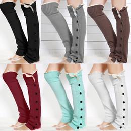 Wholesale Leg Warmers Women Lace Accessories Leg Warmer Gaiters Button Leg Warmers for Women Lace Boot Socks