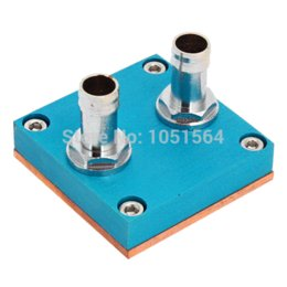 Wholesale 50mm x mm Pure Copper Base Water Cooling Waterblock For CPU Cooler copper solar path lights