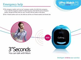 Wholesale 2015 Newest Fashion Style UPro P5 GPS Positioning intelligent GPS tracking smart watch for kids baby or Pet